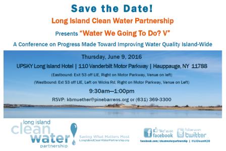 Long island clean water partnership for 150 motor parkway hauppauge