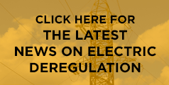 The latest news on electric deregulation